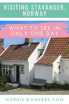 Read on to find out what there's to see and do when visiting Stavanger, Norway, for just a day! Stavanger Norway, Trondheim, Polar Night, Alesund, Visit Norway, Norway Travel, Tromso, Light Of Life, Winter Travel