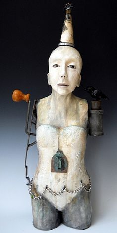 Su Griggs Allen, artist ~  I have an obsession with little niches in dolls and sculpture
