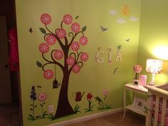 """""""We put these up in our daughter's nursery. She points to all the flowers and birds and smiles. W..."""" -Jean Marie"""