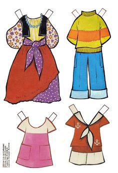 Las Recortables de Veva e Isabel: Loreta.Modelos Recortables de María Pascual