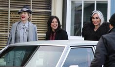 Kristin, Lana & Victoria having some fun on set (January 20, 2015)