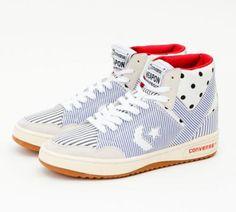 FRAPBOIS × CONVERSE WEAPON FRB HI BLUE/BLACK/WHITE #sneaker