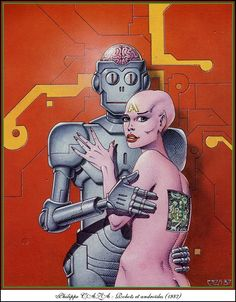 """""""Robots et androides,"""" Philippe Caza, 1987"""