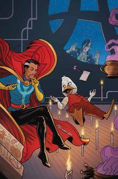 Howard the Duck & Dr. Strange by Joe Quinones