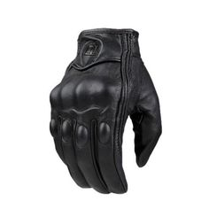 XINTOWN ST292 TOUCH SCREEN LEATHER CYCLING GLOVES-CRUISER GLOVES-CRUISER-Not Perforated-XXL-Helm Zone