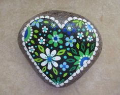 Painted rock TREE' by PlaceForYou on Etsy