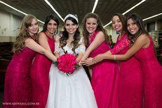 Madrinhas de Rosa Pink; Damas; Photo from Wedding collection by Above ALL fotografia e filmagem