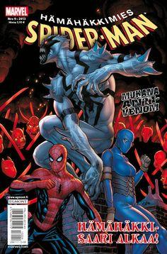 Hämähäkkimies - Spider-Man nro 9/2013. #sarjakuva #sarjakuvalehti #sarjis #egmont #marvel