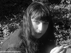 My friend Amber :) #blackandwhite #photography #photo #portrait #gothic