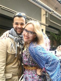 with my friend alex katsaiti