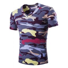 00686688a0b9c2 Brand New Tshirt Men Camouflage 2017 Summer Camo Top Design Hip Hop  Military Army Cool Tee Shirt Moletom T Shirt Men 5 Colors