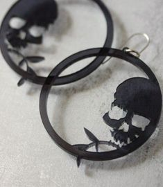 Exhilarating Jewelry And The Darkside Fashionable Gothic Jewelry Ideas. Astonishing Jewelry And The Darkside Fashionable Gothic Jewelry Ideas. Skull Earrings, Skull Jewelry, Gothic Jewelry, Body Jewelry, Jewelry Box, Jewelry Accessories, Jewlery, Gothic Earrings, Bridal Accessories