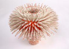 Using thousands of handcrafted porcelain shards, Israeli born artist Zemer…