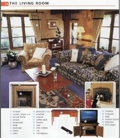 Living Room Furniture Vocabulary dining room | english leaning | pinterest | english