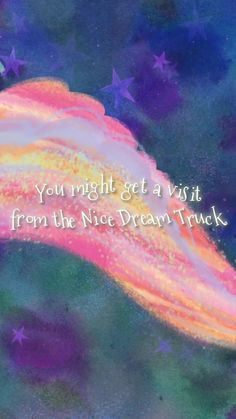 When bedtime is near, you might be in luck. You might get a visit from the Nice Dream Truck! Sample your choice of sweet dreams—from astronaut to making-the-shot and more—all served by a truck that flies on moonbeams. You may choose to swim; you may want to fly, there's an endless assortment of flavors to try! National Book Store, Nice Dream, Ice Cream Flavors, Bedtime Stories, New York Times, Sweet Dreams, Cool Pictures, This Book, Trucks