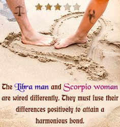 Scorpio man and libra woman compatibility