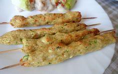 Ricette per bambini: arrosticini pollo e zucchine, un secondo sfizioso | BimboChic