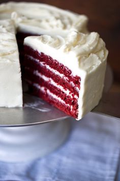 Carla Hall's Red Velvet Cake #carlahall #redvelvet #cake #thechew #food #recipes