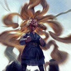 Roar, an art print by Even Mehl Amundsen The Howling, Wizards Of The Coast, Painting Process, Inktober, Character Art, Concept Art, Beast, Princess Zelda, Art Prints