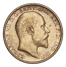 Great Britain Edward VII Gold Coin 1906 Gold Half-Sovereign