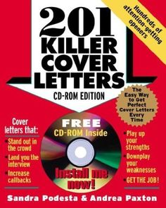 "201 Killer Cover Letters provides job seekers with an unbeatable competitive edge by arming them with surefire sample letters for every job-hunting situation. This edition of the bestselling guide includes the latest job-search techniques, tips for transferring job skills across industries, and ways to use the cover letter to anticipate and overcome ""objectionable items or gaps in employment."""
