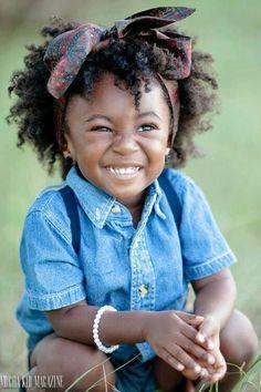 Little girl natural hair