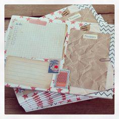 Studio Deksels - Notepad - Notitiblok Craft - Paperclip - Stamp