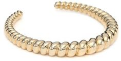 Belle Noel Rams Horn Side Cuff Bracelet Belle Noel. $28.99. Yellow gold plated Made in CN. Made in China. Swirled and raised texture. Keep away from water. Yellow gold plated. Save 47% Off!
