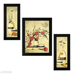 Religious Idols & Paintings Trendy Personal Home Painting Material: Synthetic Size : Frame 1 (L x W) - 6 in x 13 in          Frame 2 (L x W) - 10.2 in x 13 in          Frame 3 (L x W) - 6 in x 13 in Description: It Has 3 Pieces Of Frames With Painting (Glass Is Not Included) Work: Printed Country of Origin: India Sizes Available: Free Size   Catalog Rating: ★4 (346)  Catalog Name: Trendy Personal Home Paintings Vol 1 CatalogID_378367 C128-SC1316 Code: 213-2788064-756