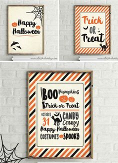Alesha Haley, Halloween Printables via House of Hargrove 50+ amazing Halloween printables. Get lots of free, adorable, spooky art to get your home ready for Halloween.