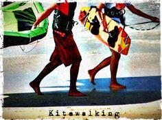 Kitewalking