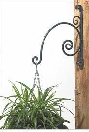 Forged Wrought-Iron Plant Hangers – Gardening – metal of life Iron Furniture, Steel Furniture, Metal Plant Hangers, Wrought Iron Decor, Pot Jardin, Iron Plant, Steel Art, Flower Stands, Iron Work