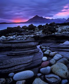 coiour-my-world: Elgol Crimson  Elgol Isle of Skye Scotland...