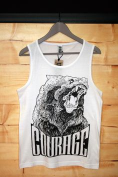 Courage/o t-shit by LA CRÜZ. (M/L/XL)