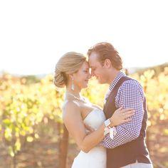Blush California Vineyard Wedding Wedding Real Weddings Photos on WeddingWire
