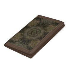 Tree Mandala Design Wallets