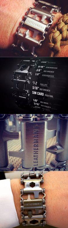 EDC Everyday Carry Multi-Tool Bracelet By Leatherman @aegisgears