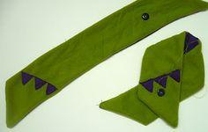 Sewing tutorial: Teeny tiny scarflette