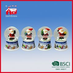 Printed Base Water Snow Globe Christmas Santa With LED Lights Blowing Snow, View Snow Globe, Red-House Product Details from Nanjing Red-House Gifts Co., Ltd. on Alibaba.com