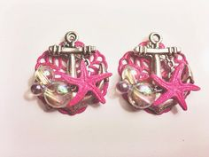 Mermaid Starfish Bubble Anchor Plugs by ArsenicaAccoutrement