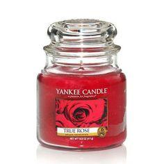 Scented Candle True Rose, Medium