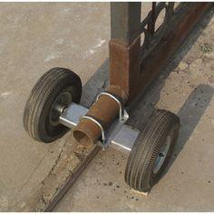 Ironton Dual Gate Wheel for Sliding Gates Sliding Fence Gate, Front Gates, Gate Wheel, Gate Hardware, Metal Gates, Fence Lighting, Driveway Gate, Modern Fence, House Entrance