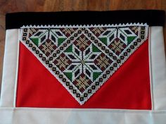 Bilderesultat for bringeduker til bunad Hardanger Embroidery, Going Out Of Business, Traditional Dresses, Norway, Scandinavian, Textiles, Folklore, Beadwork, Belts
