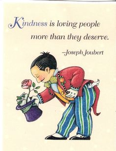 Kindness Is Loving People More Than They Deserve Magnet Mary Engelbreit Artwork