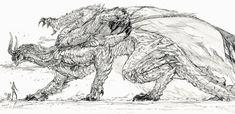 Mystical Animals, Mythical Creatures Art, Mythological Creatures, Fantasy Creatures, Monster Hunter Series, Monster Hunter Art, Monster Art, Monster Concept Art, Fantasy Monster