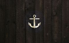 thinking of doing this kind of theme in a bathroom...very Marine/old school tattoo inspired.