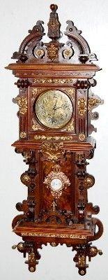 Reloj regulador de pared del antiguo Lenzkirch                              …                                                                                                                                                                                 Más