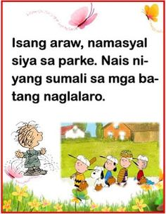 Teacher Fun Files: Maikling Kwento: Bakit Nagbago si Jose? Moral Stories For Kids, Short Stories For Kids, Reading Stories, Kids Story Books, Reading Passages, Daily Lesson Plan, Math Lesson Plans, Math Lessons, Story For Grade 1