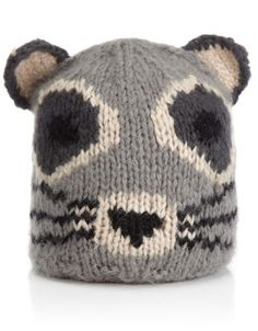 Mr. Raccoon Pull On Hat, £17