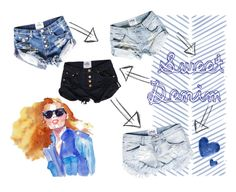 """Denim"" by styligion on Polyvore"